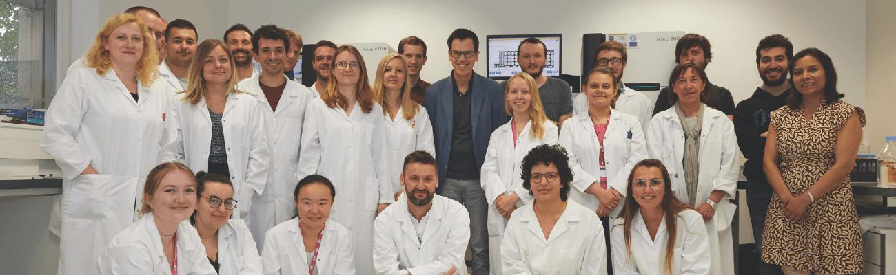 Génomique intégrative Pasteur Lille