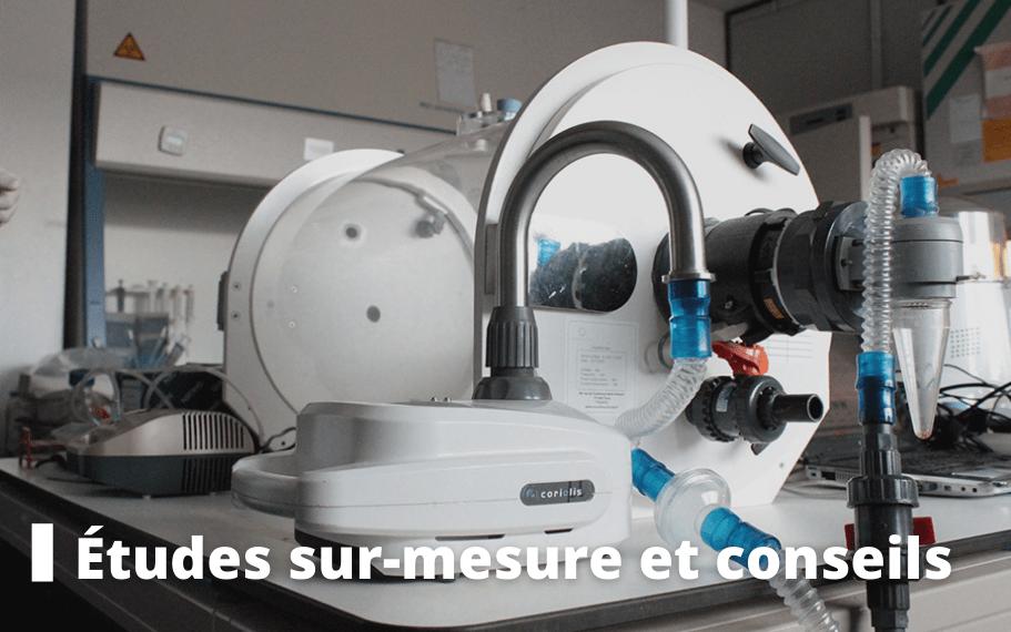 etudes sur-mesure sécurité microbiologique