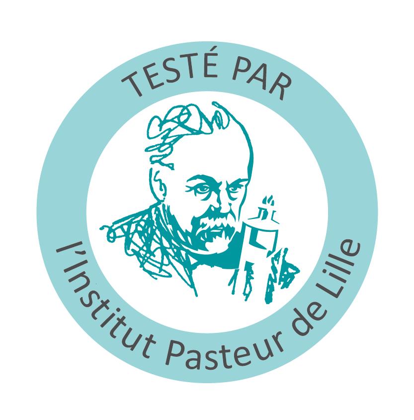 Tampon Testé par l'Institut Pasteur de Lille